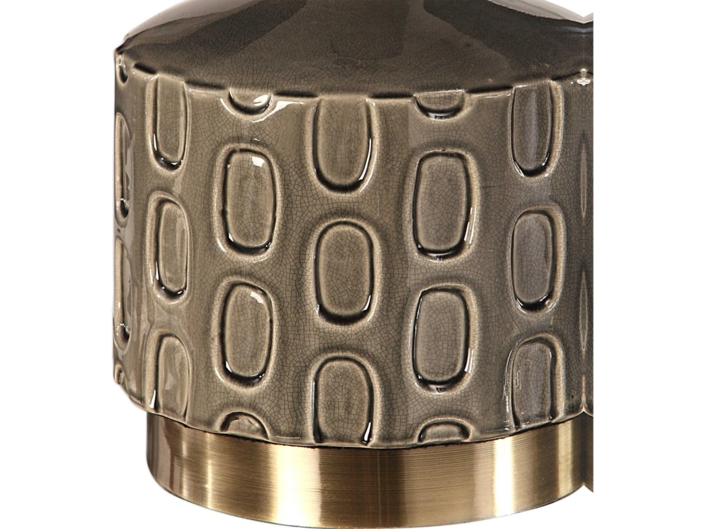 Uttermost Table LampsDarrin Gray Table Lamp