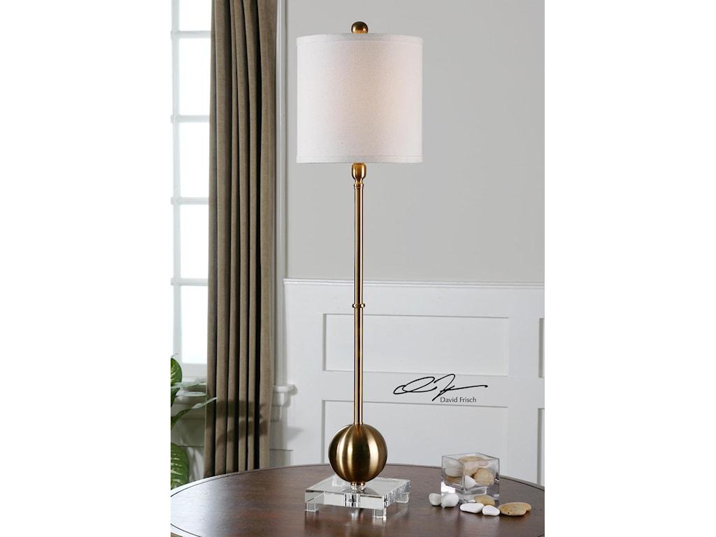 Uttermost Buffet LampsLaton Brass Buffet Lamp