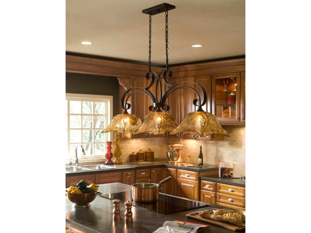 Uttermost Lighting Fixtures Pendant Lightsvetraio 3 Light Kitchen Island