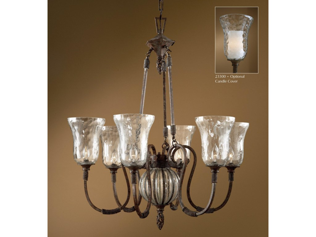 Uttermost Lighting Fixturesgaleana 6 Light Chandelier