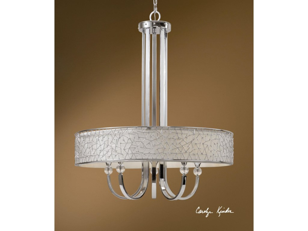 Uttermost Lighting Fixtures 21233 Brandon 5 Light Single Shade ...