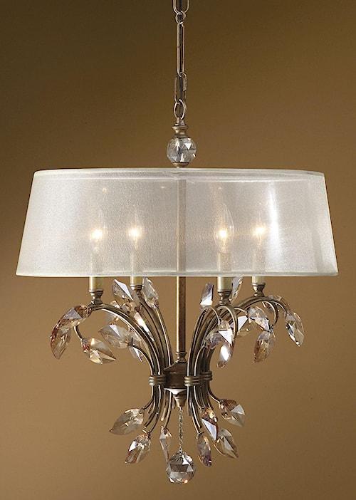 Uttermost Lighting Fixtures Alenya 4 Light Chandelier