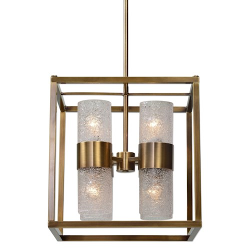 Uttermost Lighting Fixtures Marinot 8 Light Cube Pendant