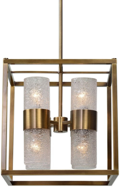 uttermost lighting fixtures 21282 marinot 8 light cube pendant