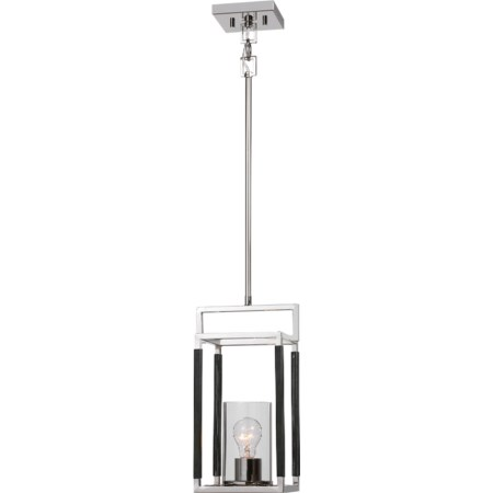 Newburgh 1 Light Nickel Pendant