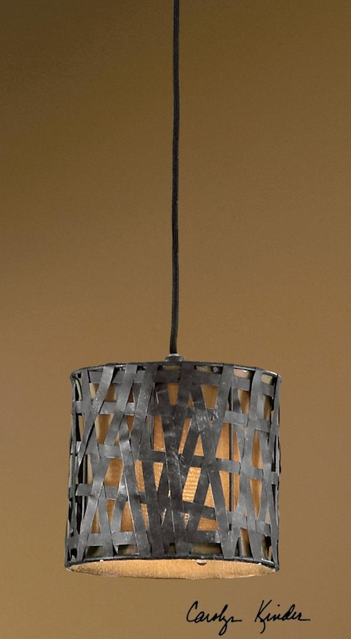 Uttermost Lighting Fixtures Alita Mini Metal Hanging Shade