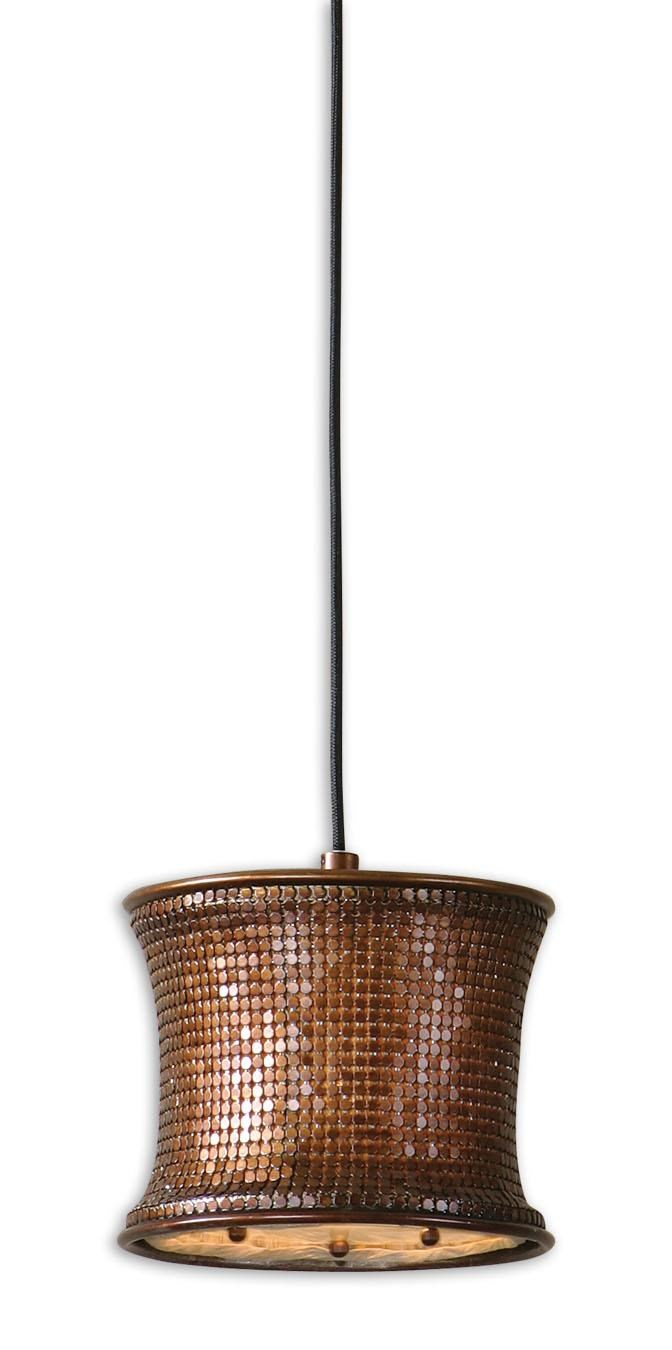 copper mini pendant light. Uttermost Lighting FixturesMarcel Copper Mini Pendant; Pendant Light