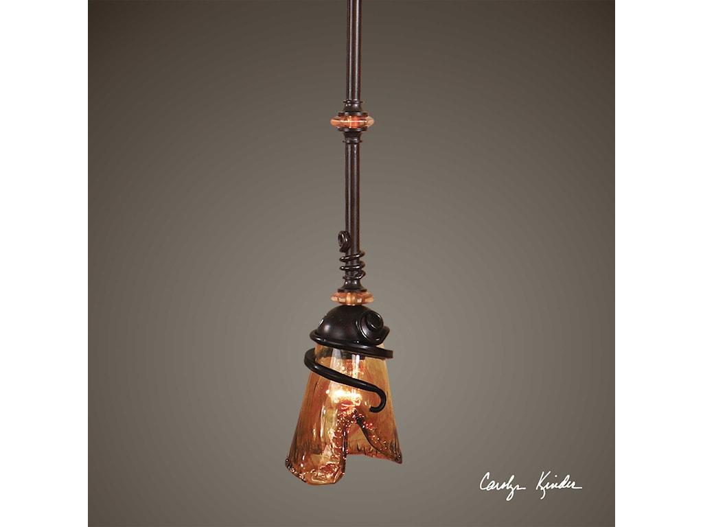 Uttermost Lighting Fixtures - Pendant LightsVitalia 1 Light Mini Pendant