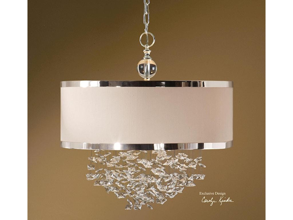 uttermost lighting fixturesfascination 3 light hanging shade - Uttermost Lights