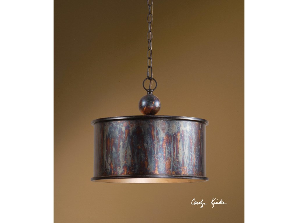 Uttermost Lighting Fixturesalbiano 1 Light Pendant