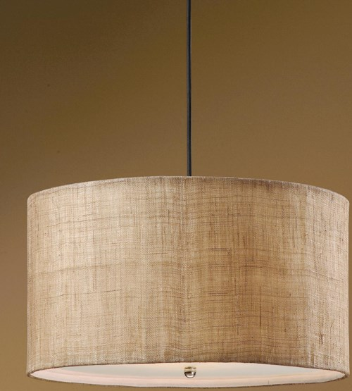 uttermost lighting fixtures 21933 dafina 3 light hanging shade