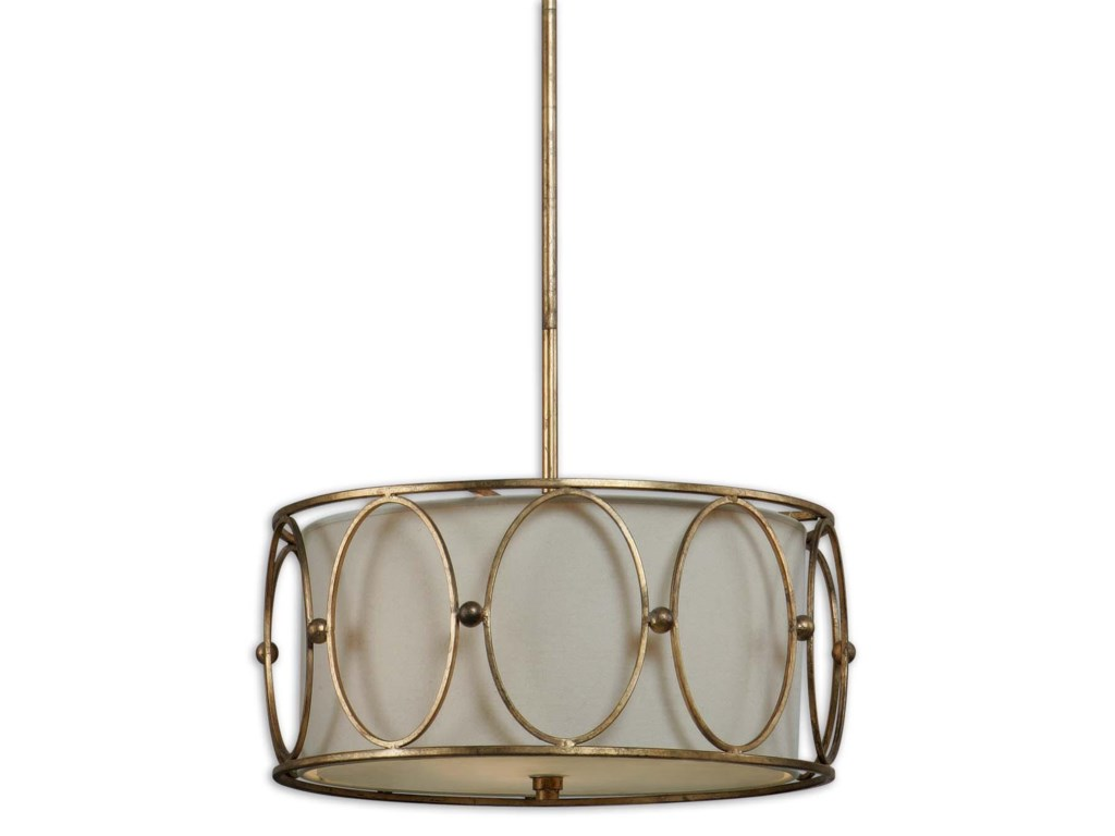 Uttermost Lighting Fixtures - Pendant LightsOvala 3 Light Pendant