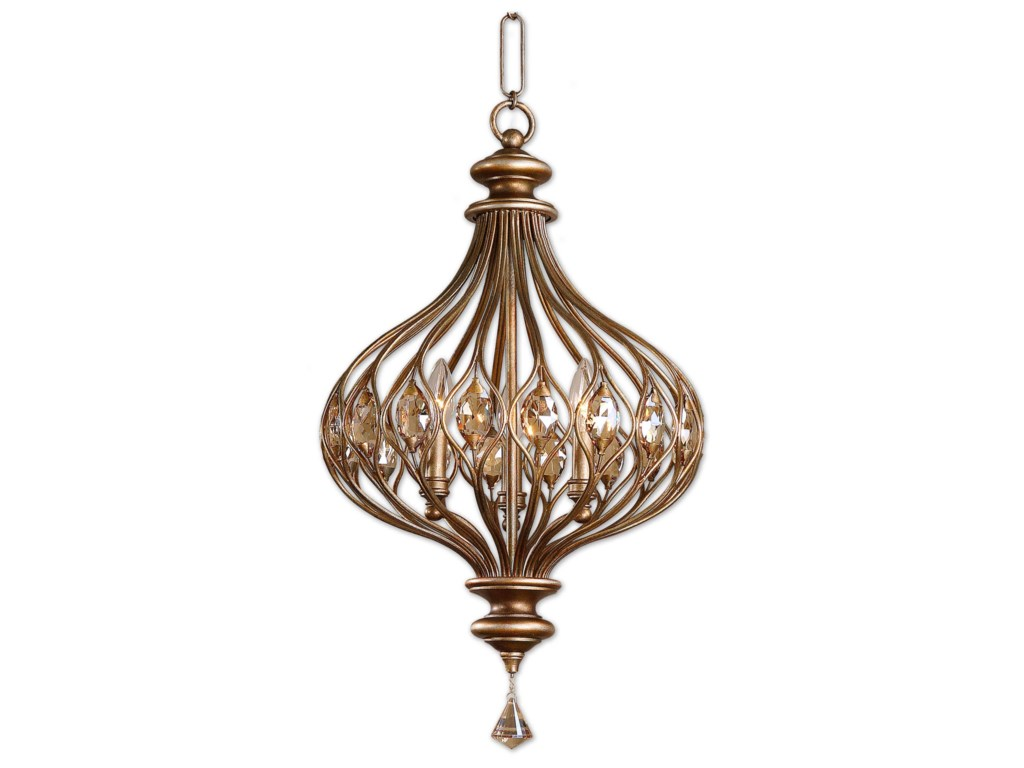 Uttermost Lighting Fixtures - Pendant LightsSabina 3 Light Pendant