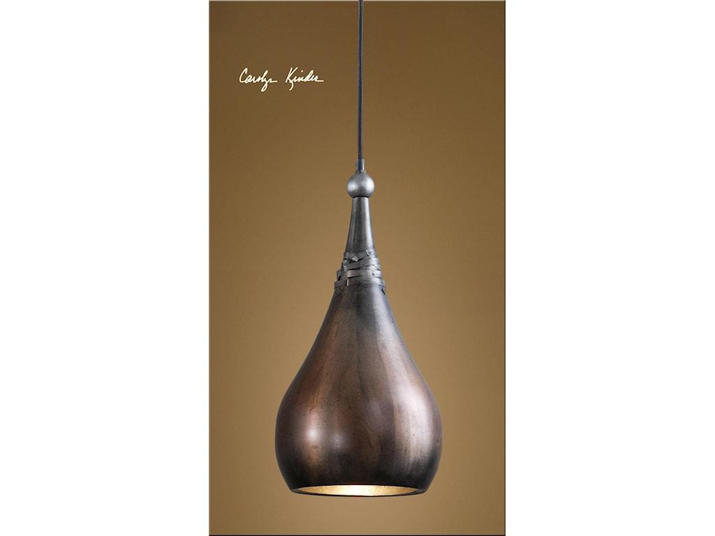 Uttermost Lighting Fixtures - Pendant LightsAlpena 1 Light Mini Pendant