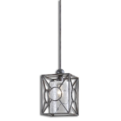 Uttermost Lighting Fixtures Arbela 1 Light Mini Pendant
