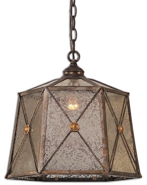 uttermost lighting fixtures basiliano 1 light pendant - Uttermost Lights