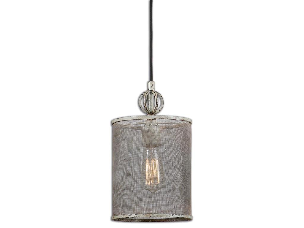 Uttermost Lighting Fixtures - Pendant LightsPontoise Mini Pendant