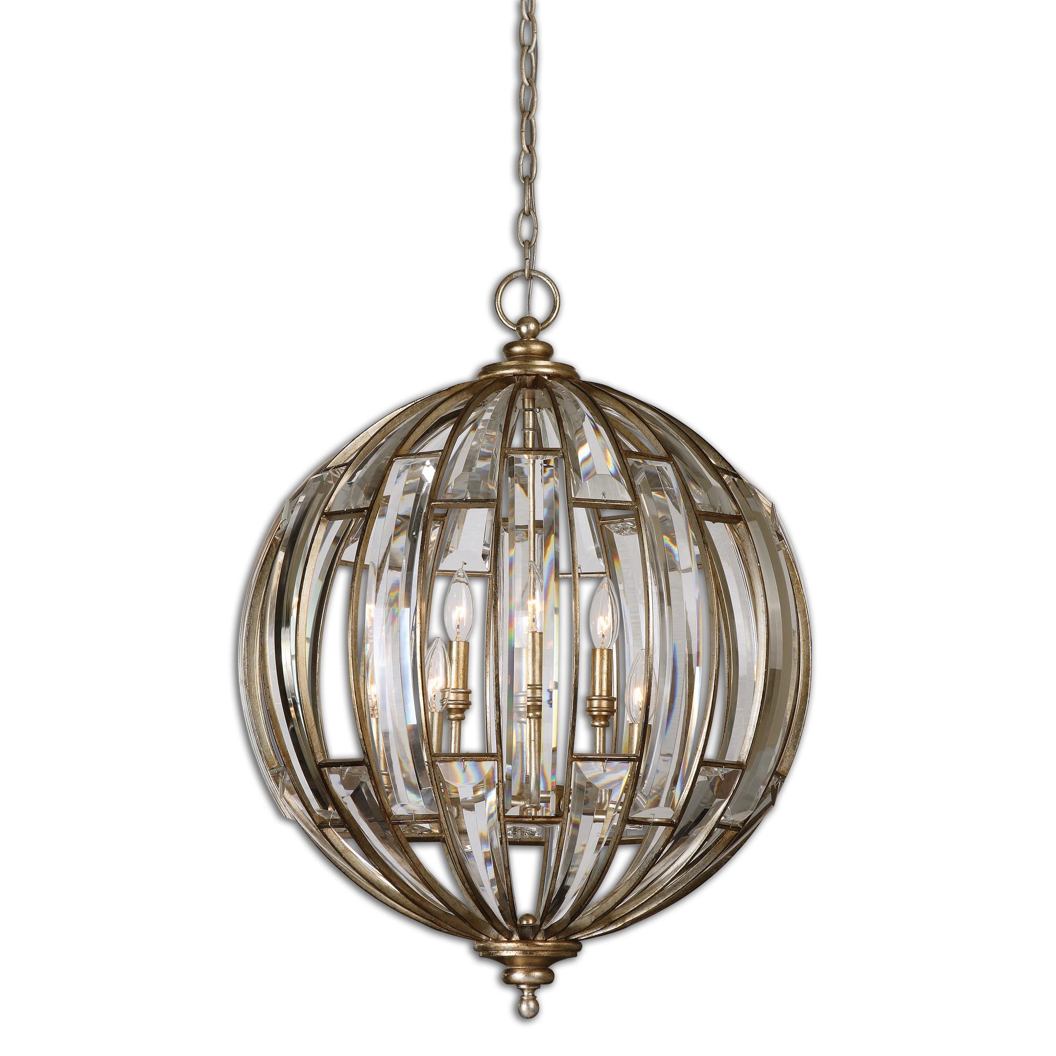 uttermost lighting fixtures uttermost vicentina 6 light sphere pendant furniture pendant light chandelier - Uttermost Lighting