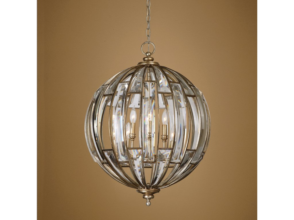 Uttermost Lighting Fixturesuttermost Vicentina 6 Light Sphere Pendant