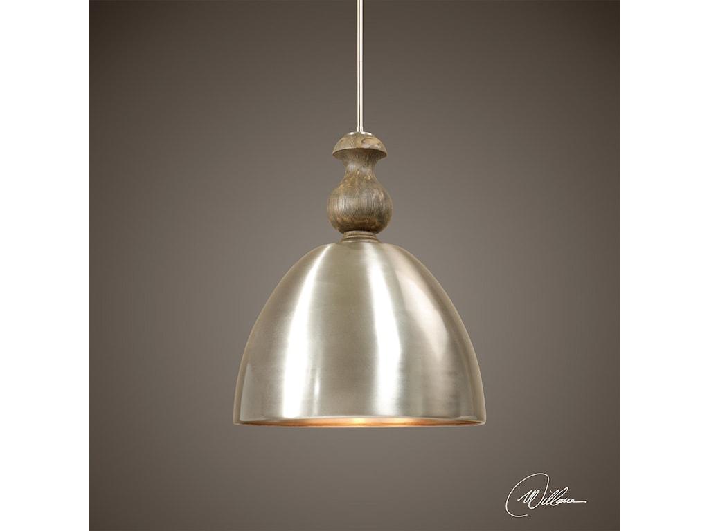Uttermost Lighting Fixtures - Pendant LightsLuna 3 Light Aluminum Pendant