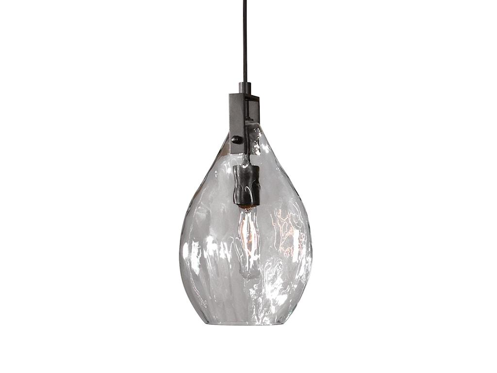 Uttermost Lighting Fixturescampester 1 Light Watered Gl Mini Pendant