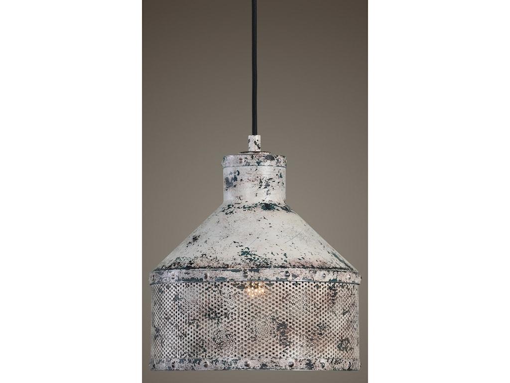 Uttermost lighting fixtures pendant lightsgranaio 1 light rustic pendant
