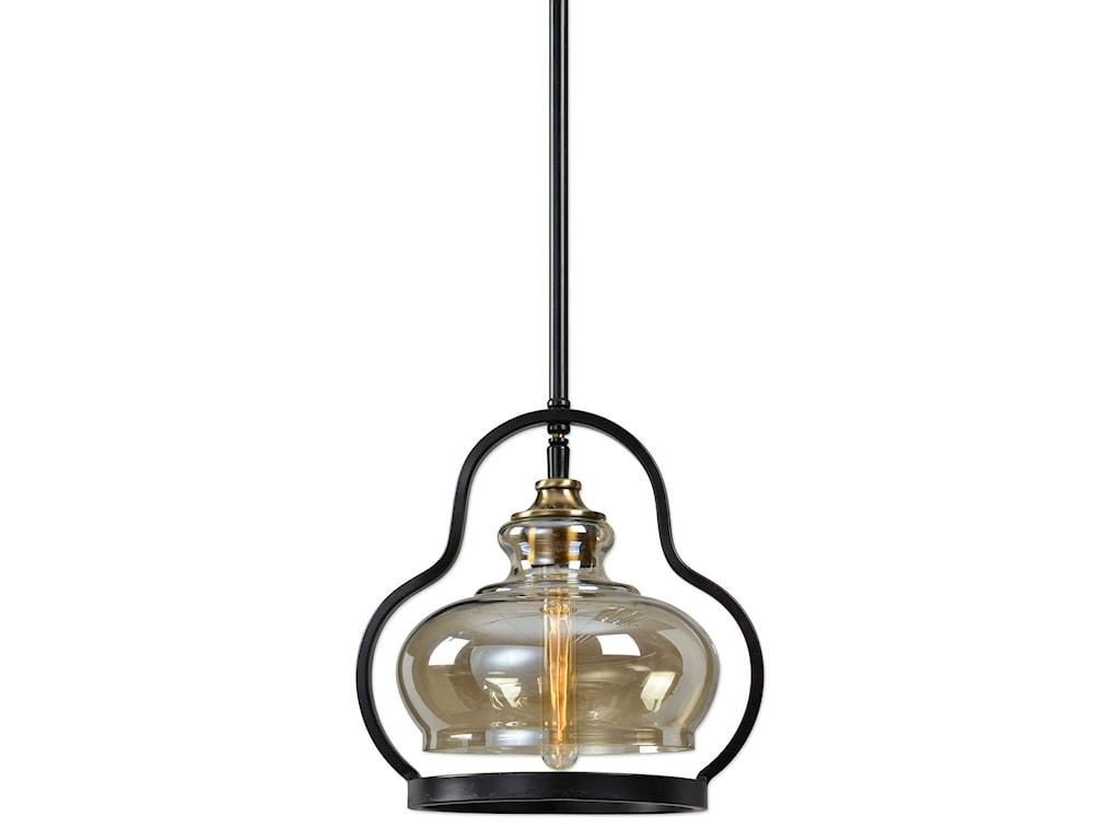 Uttermost Lighting Fixtures Cotulla 1 Lt Mini Pendant