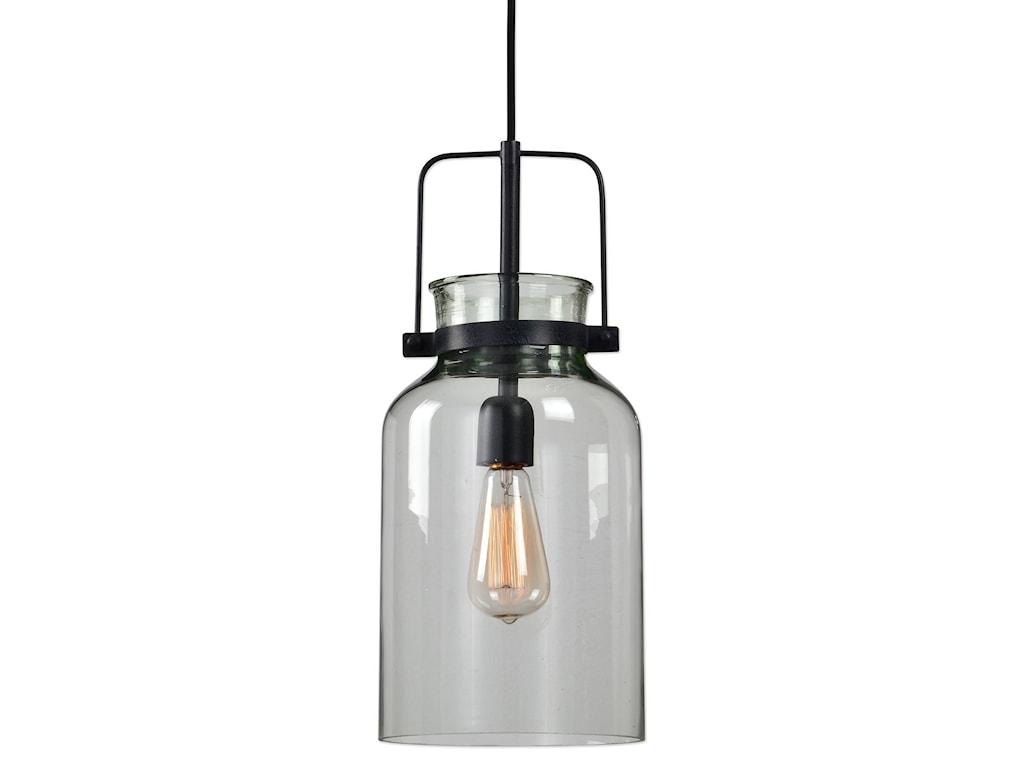 Uttermost Lighting Fixtures - Pendant Lights Lansing 1 Lt. Mini Pendant