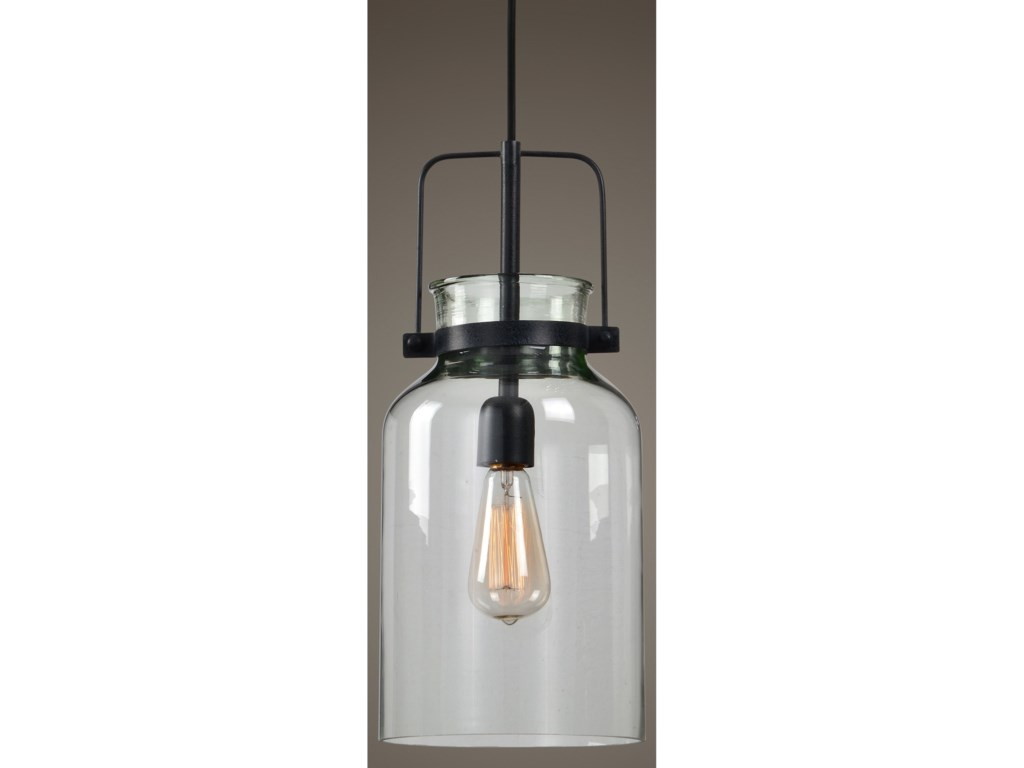 Uttermost Lighting Fixtures - Pendant Lights Lansing 1 Lt. Mini Pendant