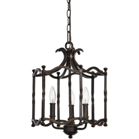 Candela Old World 3 Light Pendant