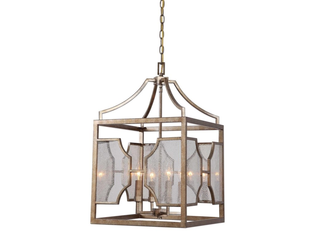 Lighting fixtures pendant lights cates 4 light lantern pendant by uttermost