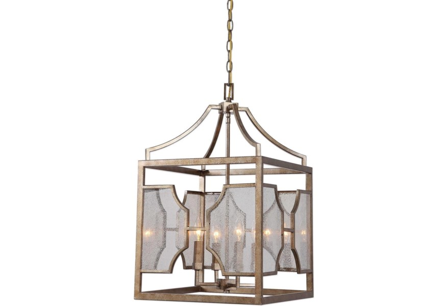 Lighting Fixtures Pendant Lights Cates 4 Light Lantern By Uttermost At Dunk Bright Furniture