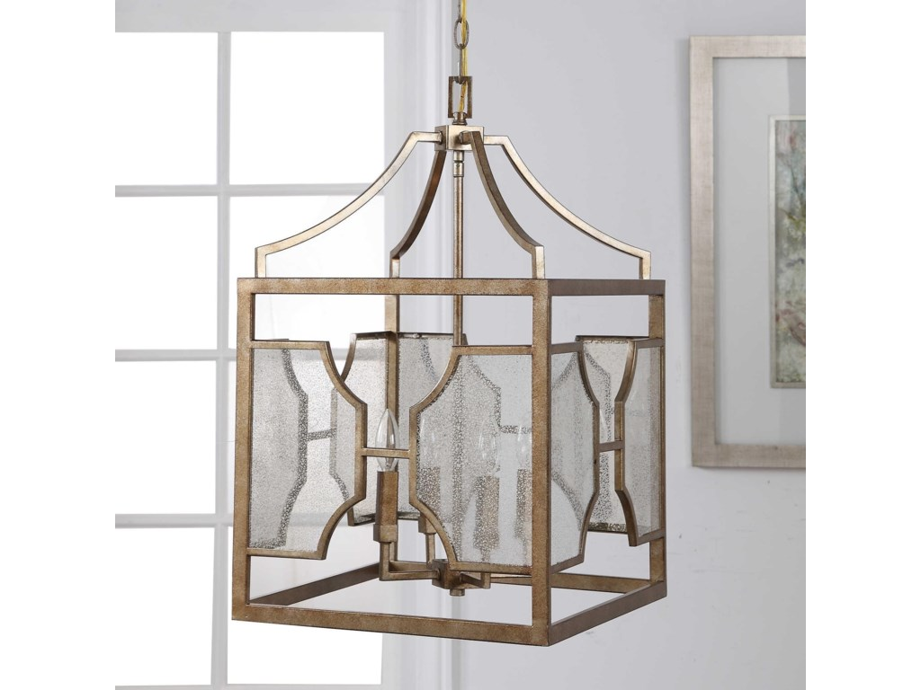 Lighting Fixtures Pendant Lights Cates 4 Light Lantern By Uttermost At Rotmans