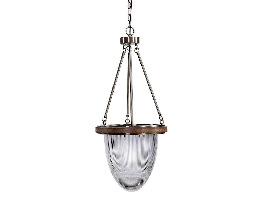 Uttermost lighting fixtures pendant lightsclemmie 1 light industrial pendant