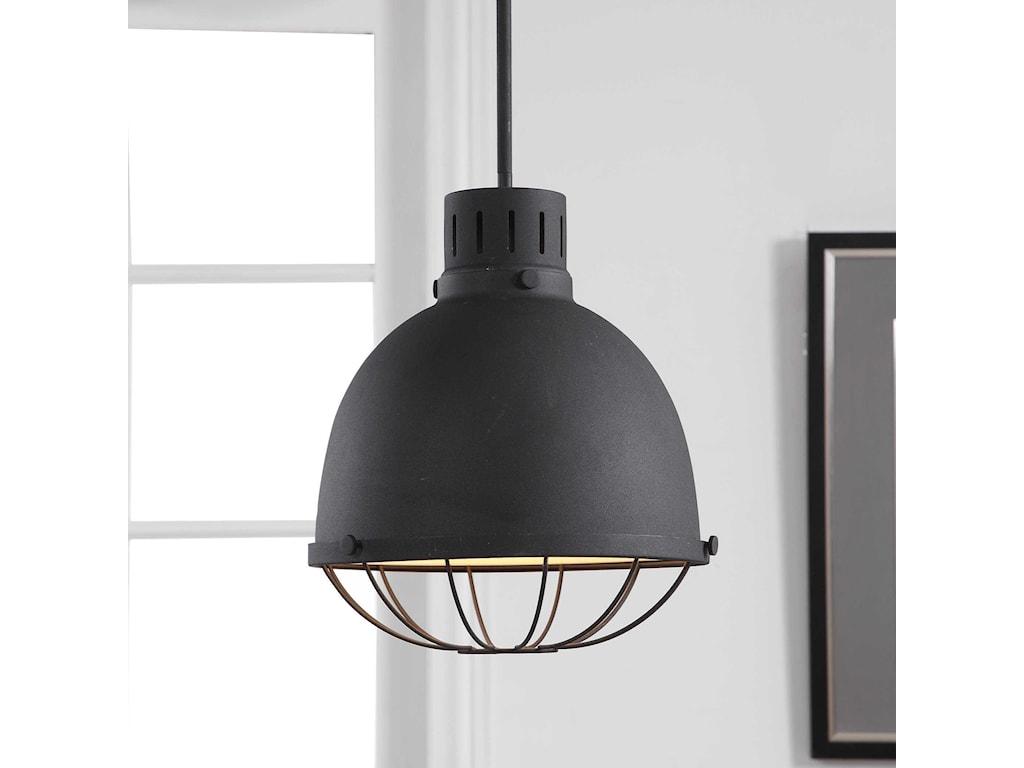 Uttermost Lighting Fixtures - Pendant LightsDayton 1 Light Industrial Pendant