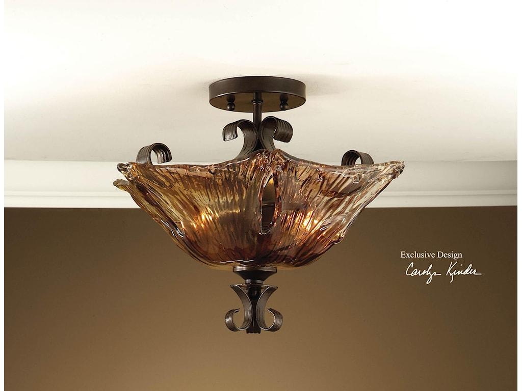 uttermost lighting fixturesvetraio 2 light semi flush mount - Uttermost Lights