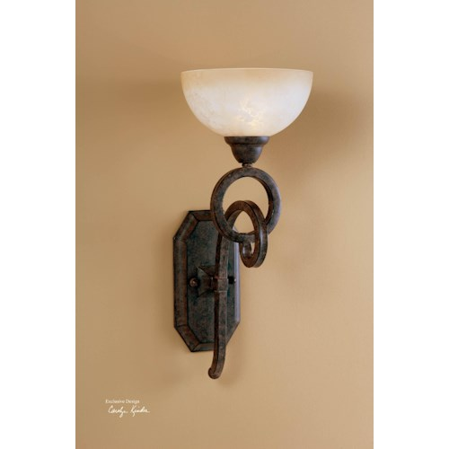 Uttermost Lighting Fixtures Legato Wall Sconce