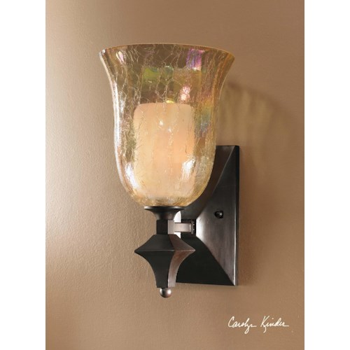 Uttermost Lighting Fixtures Elba 1 Light Wall Sconce