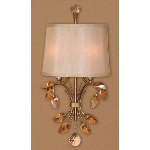 Uttermost Lighting Fixtures Alenya 2 Light Wall Sconce