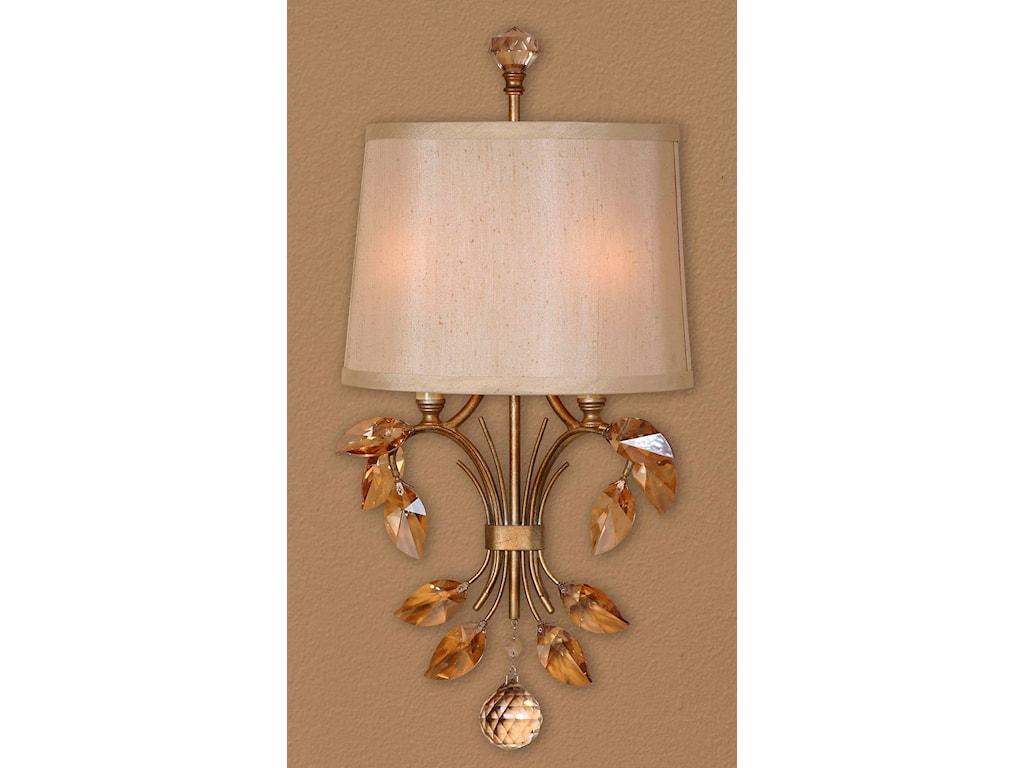 Uttermost Lighting Fixtures 22487 Alenya 2 Light Wall Sconce | Dunk ...