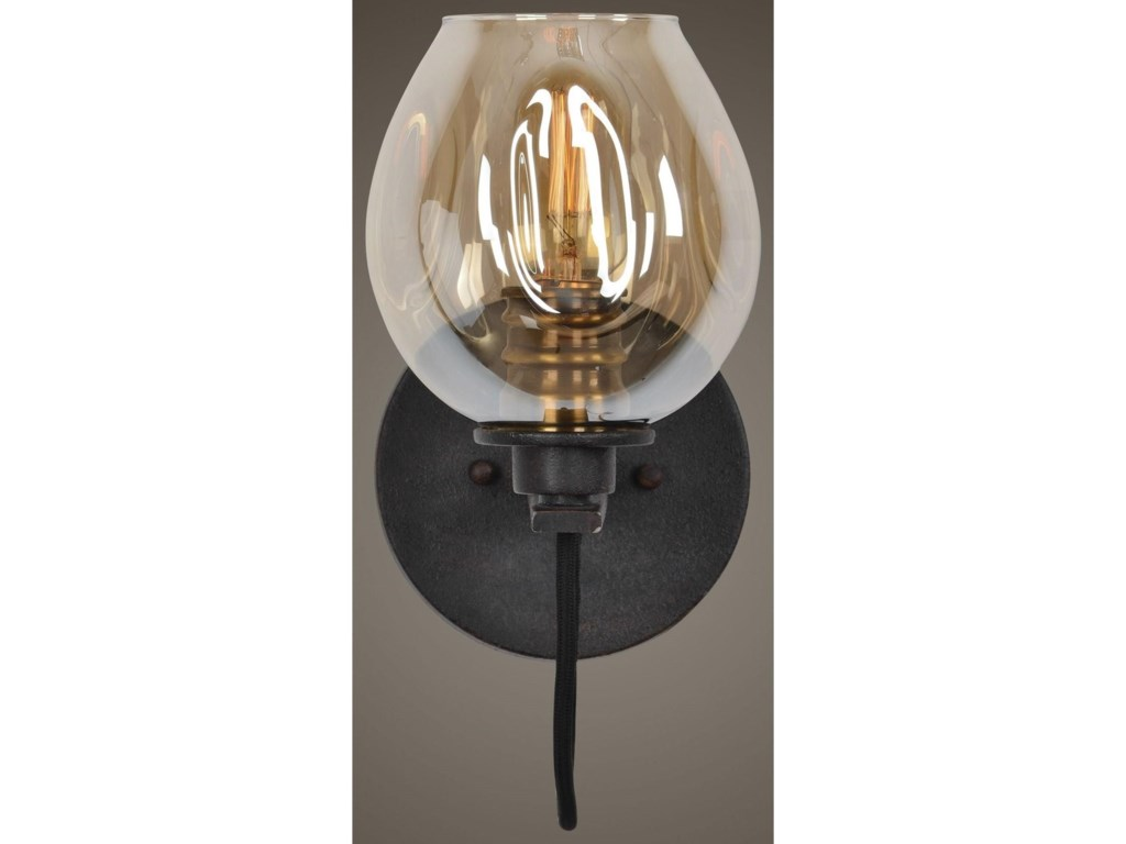 Uttermost Lighting FixturesFritz 1 Light Gold Glass Sconce