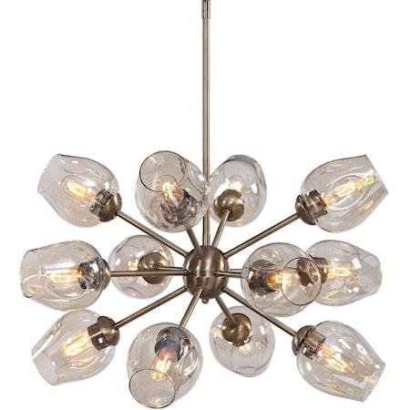 Chet 12 Light Sputnik Chandelier