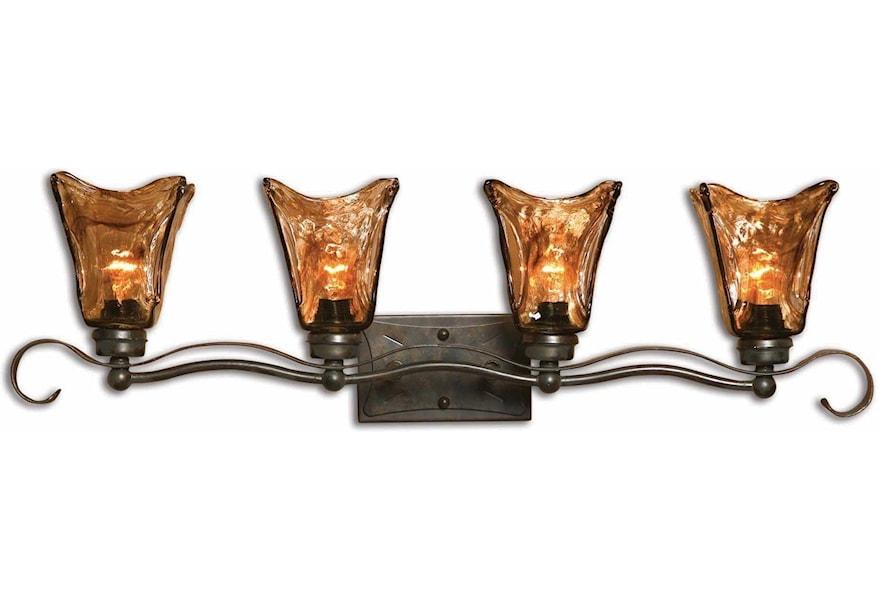 Lighting Fixtures Wall Sconces Vetraio 4 Light Vanity Strip