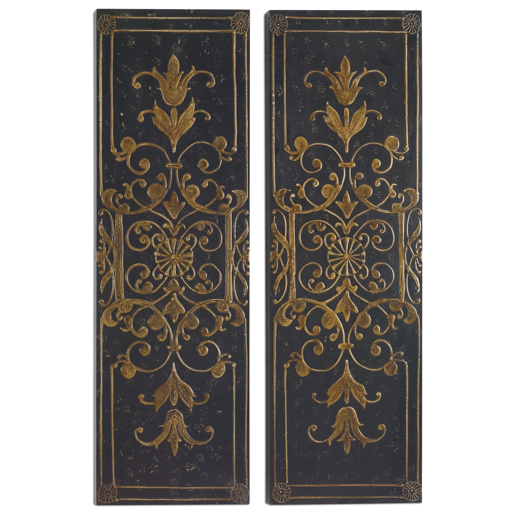Awesome Uttermost Alternative Wall Decor Melani Decorative Panels S/2