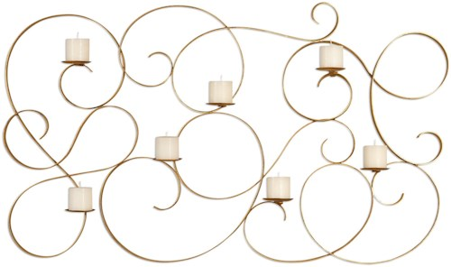 Uttermost Alternative Wall Decor Corinne 7 Candle Wall Sconce