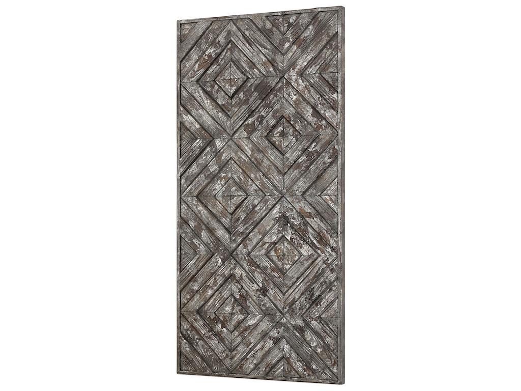 Uttermost Alternative Wall DecorRoland Wood Panel