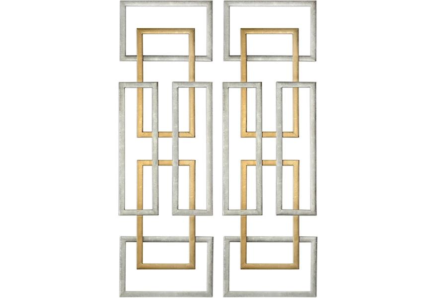 Alternative Wall Decor Aerin Geometric Art S 2