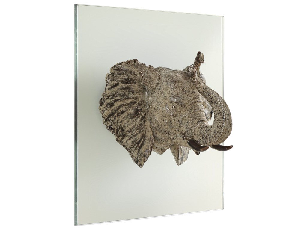 Uttermost Alternative Wall DecorKandula Aged Bronze Elephant Head