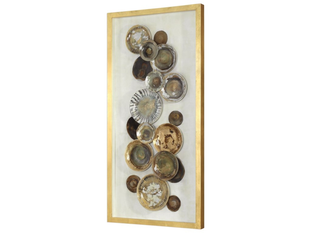 Uttermost Alternative Wall DecorMyla Antique Plate Shadow Box