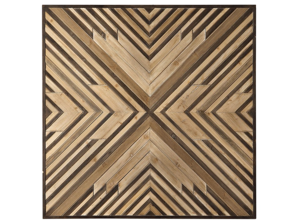 Alternative Wall Decor Floyd Wooden Wall Art By Uttermost At Wayside Furniture